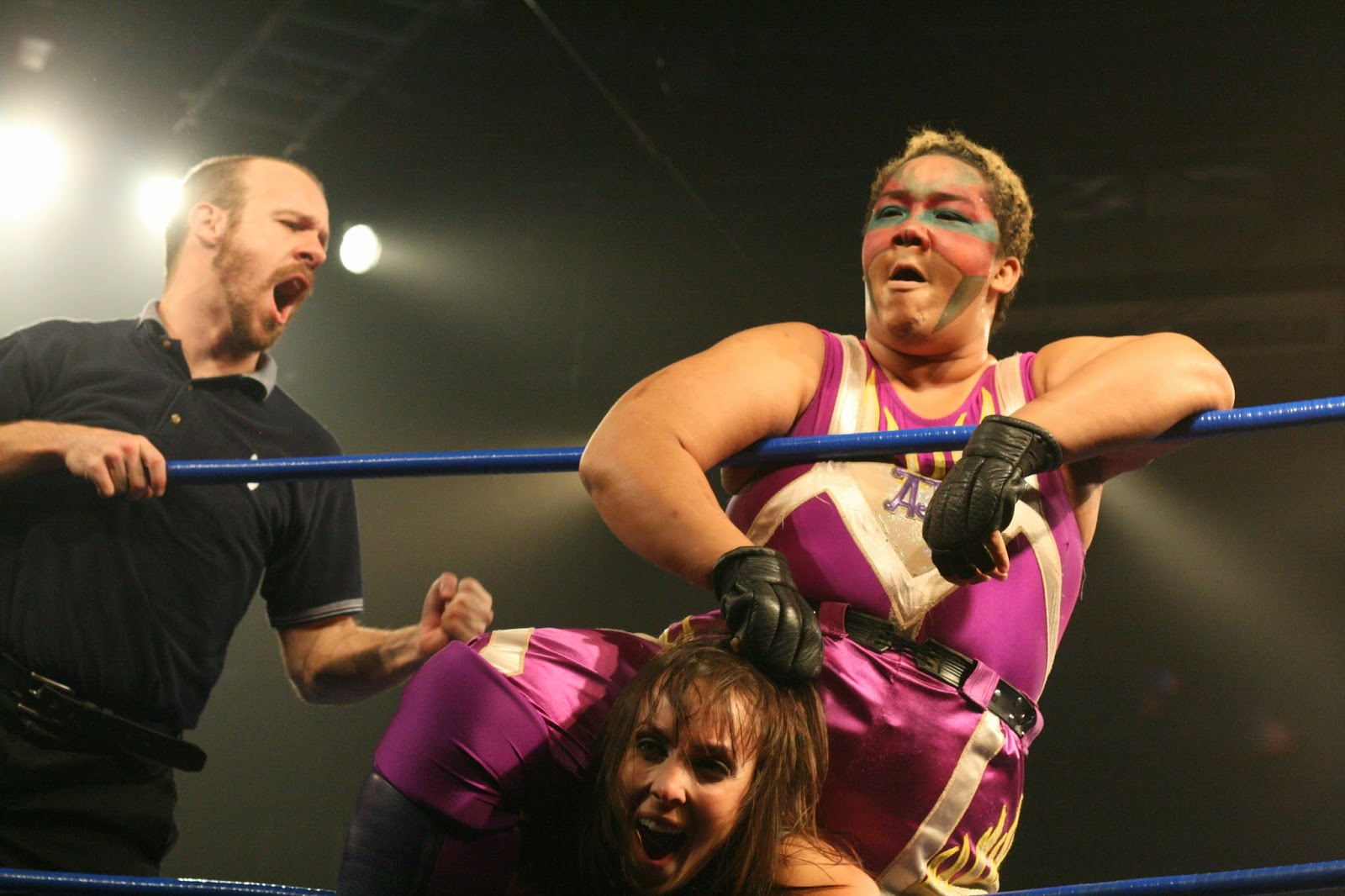Awesome Kong Weight Loss Aja kong is just awesome Awesome Kong Boyfriend