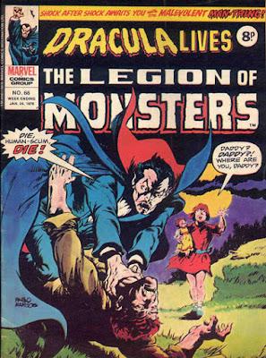 Marvel UK, Dracula Lives #66