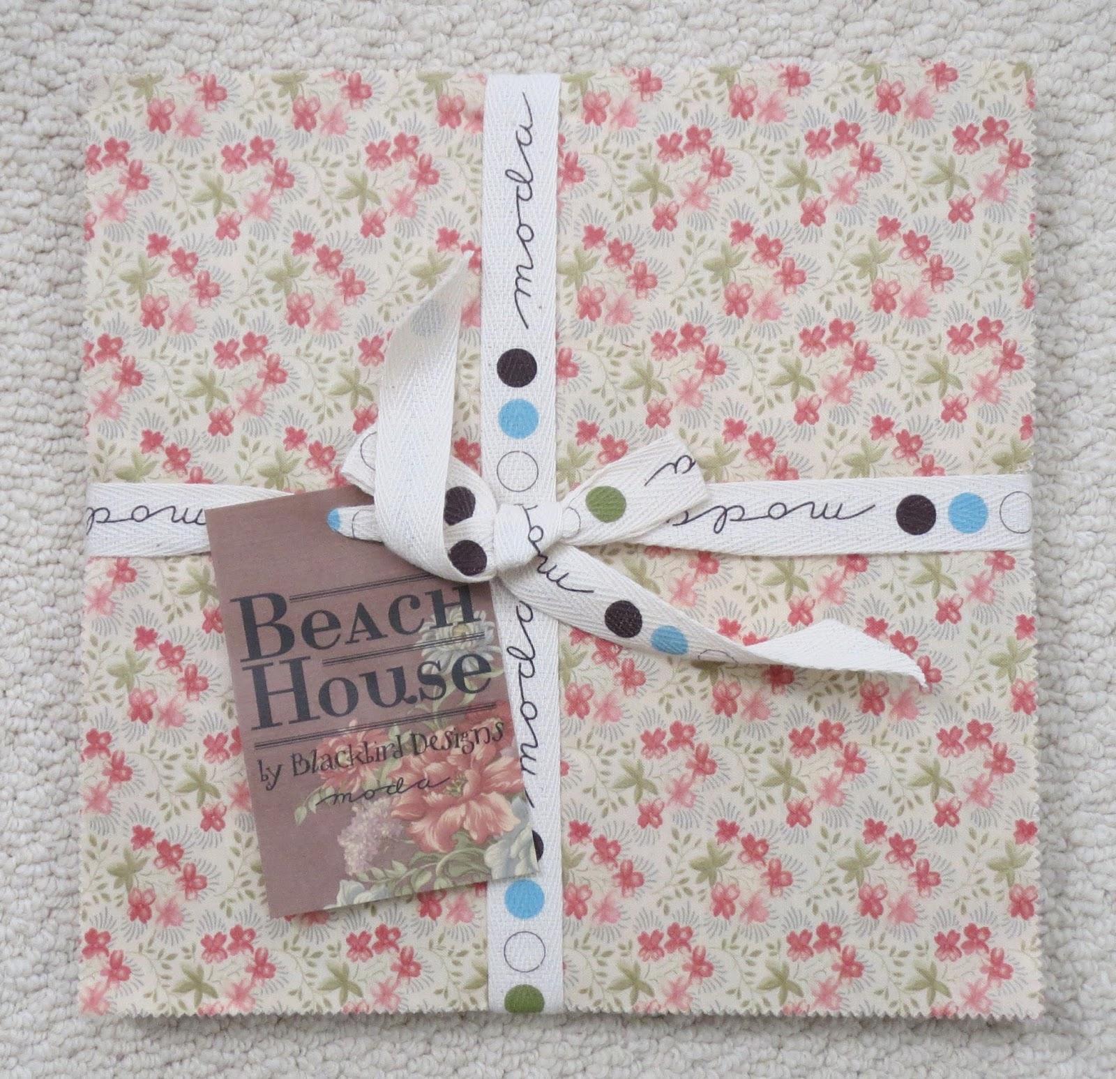 Beach house fabric blackbird designs house design for Garden party fabric by blackbird designs