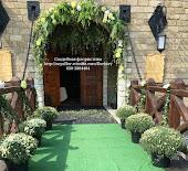 Свадебная арка для выездной церемонии.