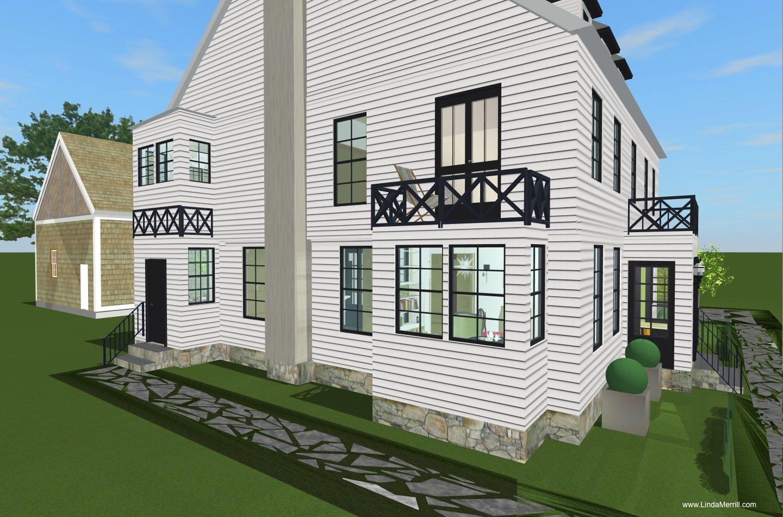 Lindas Dream House 2nd Floor Plan and Master Bathroom Design