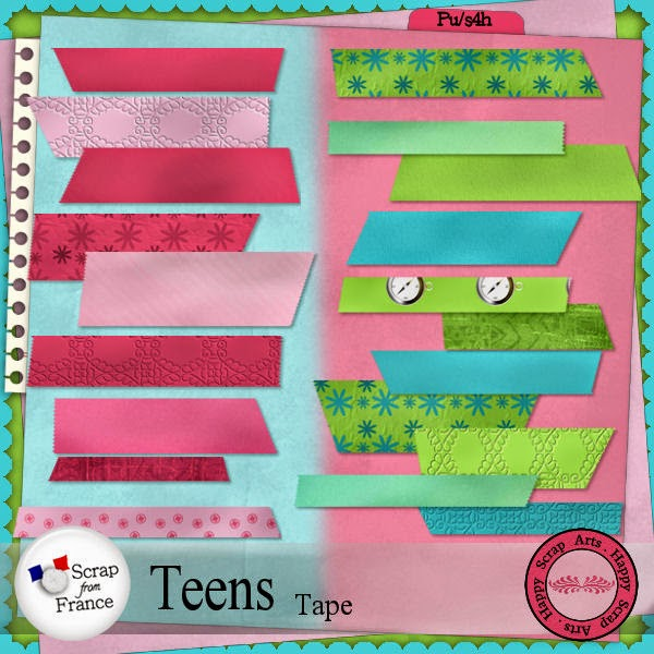 HSA Teen Boys  tape