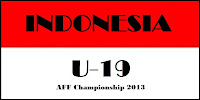 Jadwal Pertandingan Timnas Indonesia AFF U 19 2013