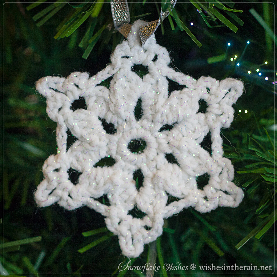 Free Pattern: Snowflake Wishes 5 | wishes in the rain