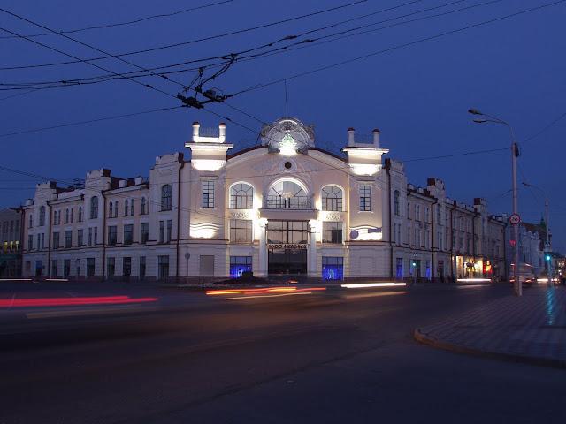 ночной Томск