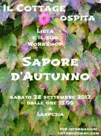 Workshop Sapore d'autunno