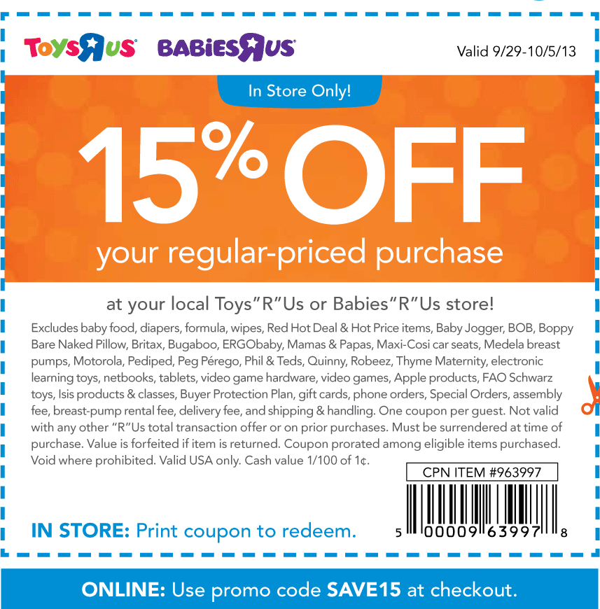 Babies r us coupon code