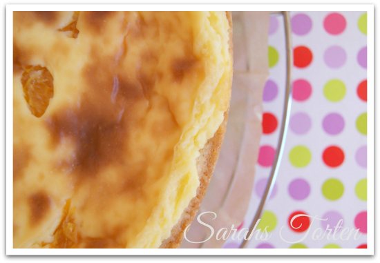 Mandarine pudding kuchen