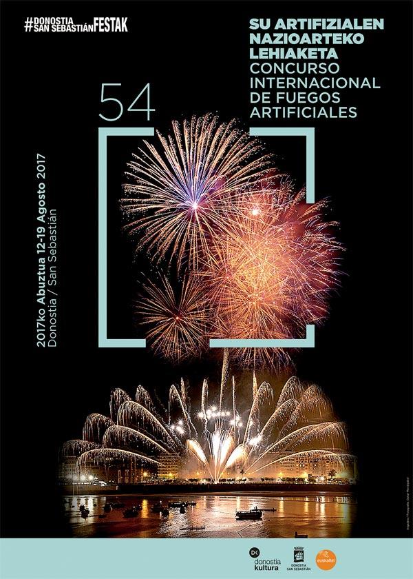 CONCURSO INTERNACIONAL FUEGOS ARTIFICIALES SAN SEBASTIAN 2017