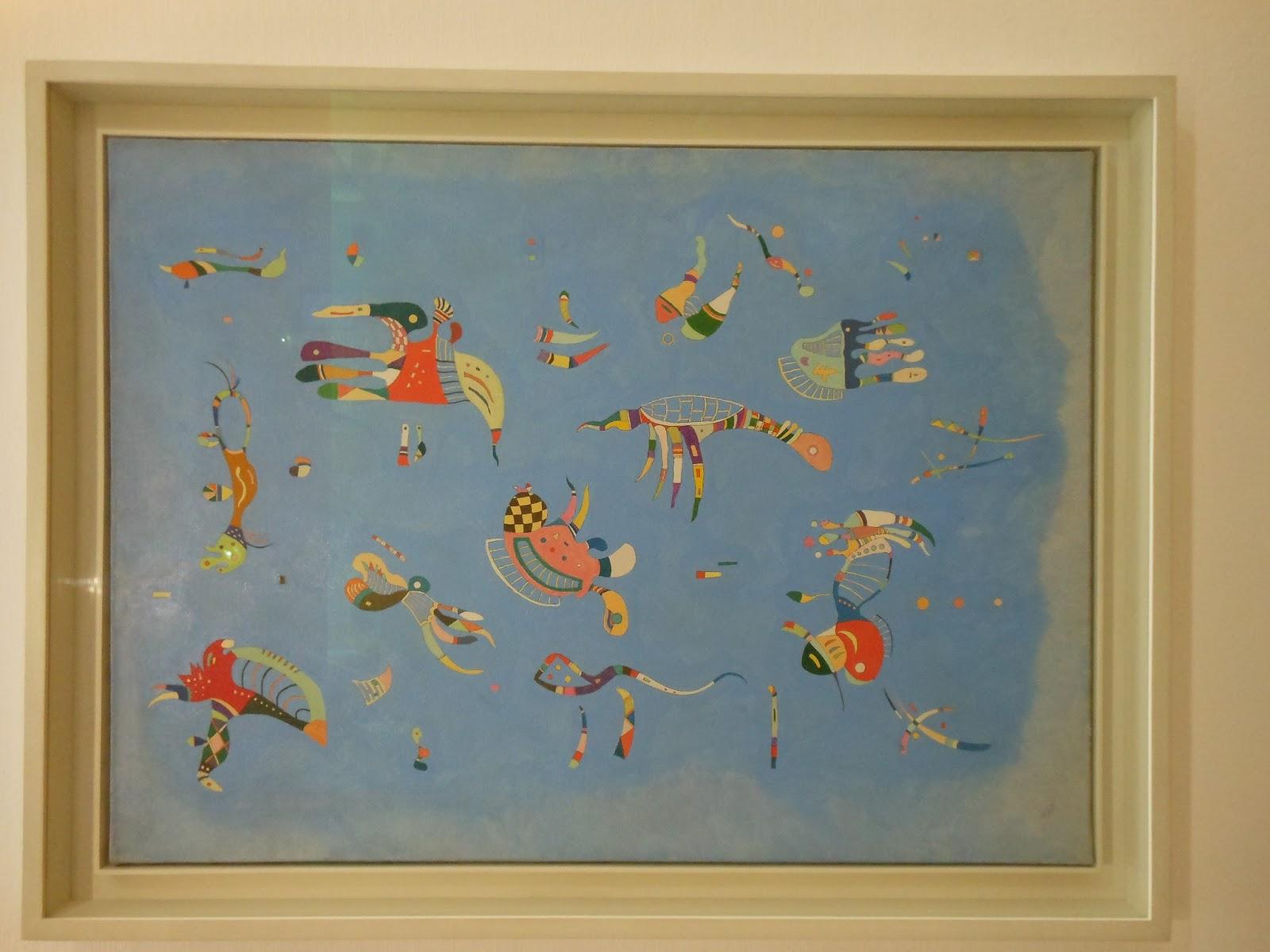 Art With a Needle: Paris museums 5 -- Kandinsky at the Pompidou