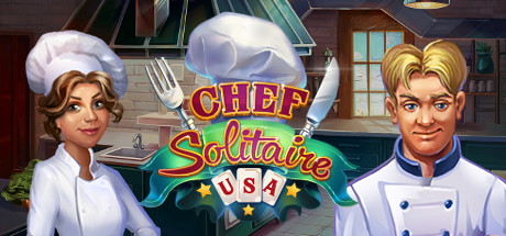 Chef Solitaire USA PC Game Free Download