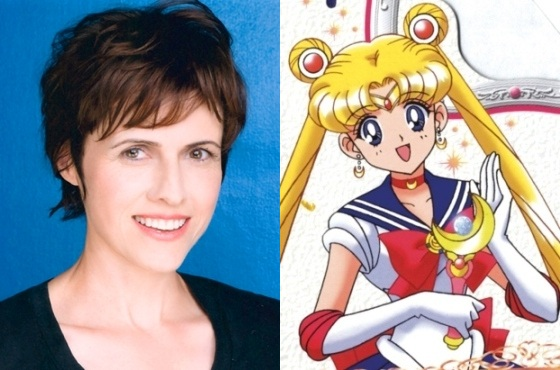 Terry Hawkes, Segunda Voz de Sailor Moon en la versión norteamericana