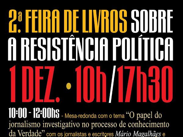 2ª Feira de livros sobre a resistência política em São Paulo