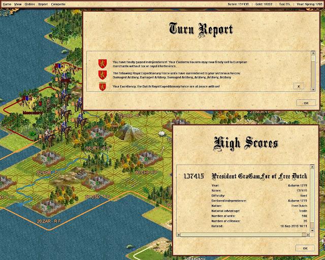 Free Colonization - Veteran Cavalrry Screenshot