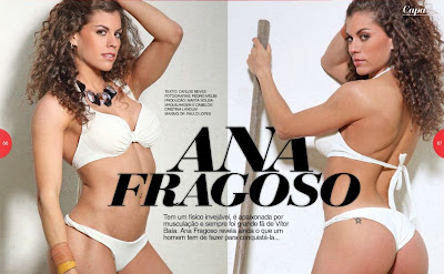 Ana Fragoso Hot Magazine
