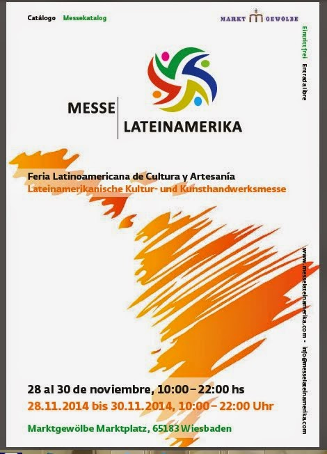 Catálogo de la Feria Messe Lateinamerika Wiesbaden 28 al 30/11/2014