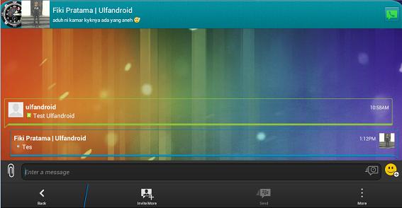 BBM Mod Terbaru Versi 2.5 Beserta Ganti Background
