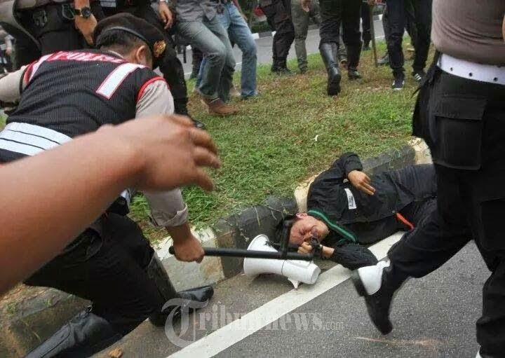 Polisi Tembak Mati Mahasiswa
