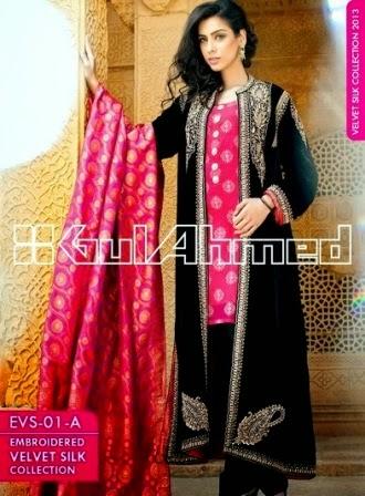 Gul Ahmed Full Embroidery Coats