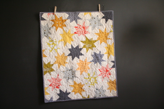 Miss Make Sparkle Punch Baby Quilt
