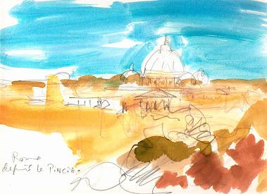 Saint-Pierre depuis le Pincio