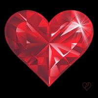 Рубиновое сердце от Наталии Решетник