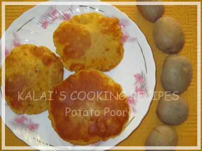 How to make Potato Masala Poori | Aloo Masala Puri | உருளைக்கிழங்கு மசாலா பூரி