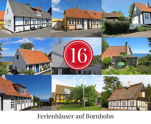 Amalie loves Denmark Ferienhäuser auf Bornholm in den urigen Kleinstädten