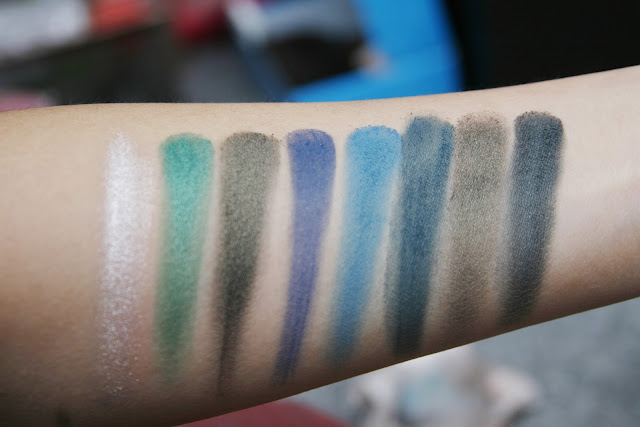 New Rare Sephora Chevron Color Spectrum 12 Powder Eyeshadow Palette Ebay