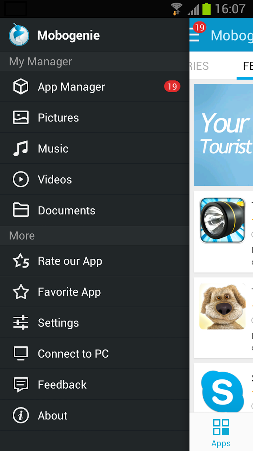 Mobogenie Market Android Apk resimi 3