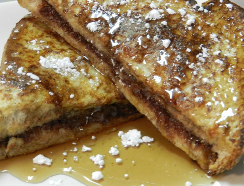 More Than Just A Casserole: Nutella Stuffed French Toast