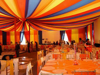 Carnival parties decoration