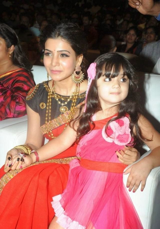 Samantha at Son of Satyamurthy Audio Launch Stills