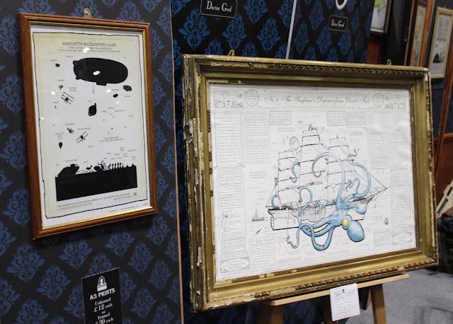 Island of Doctor Geof steampunk prints