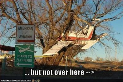 pesawat mendarat