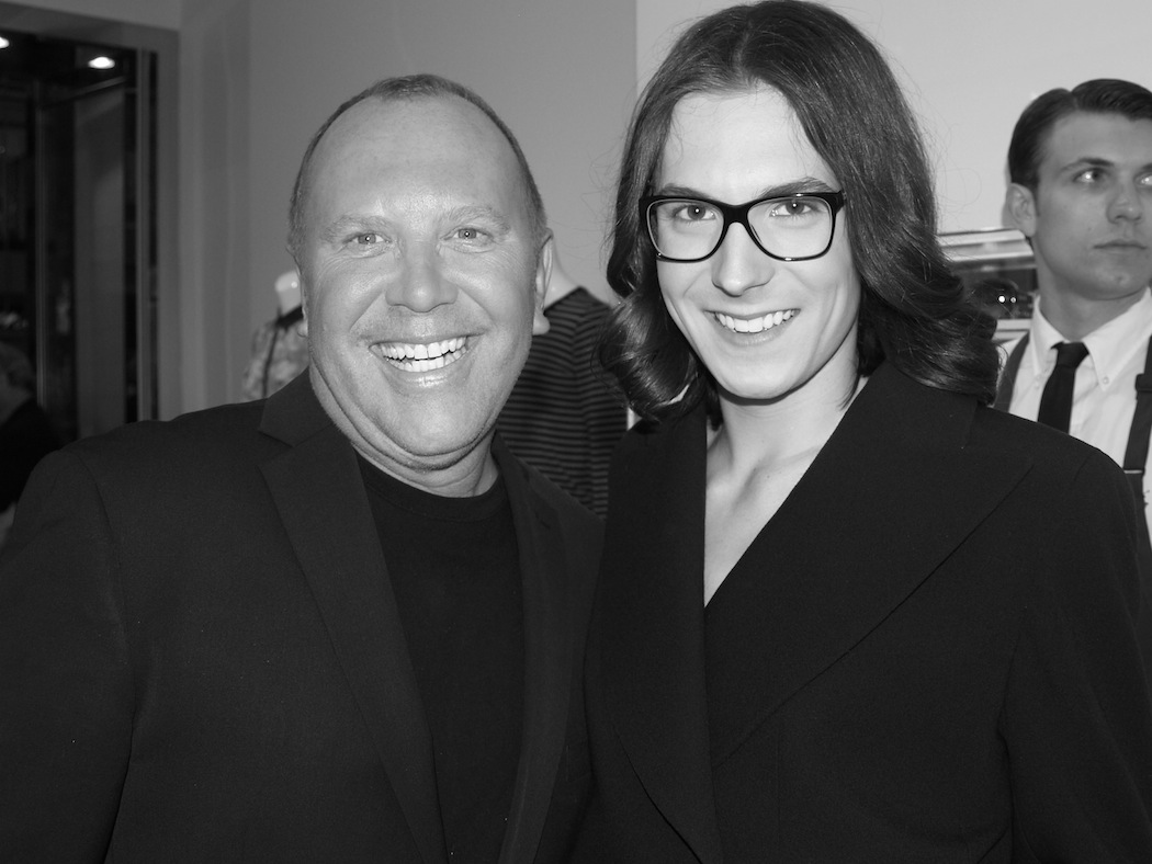 Michael Kors and Nolan Bryant Toronto