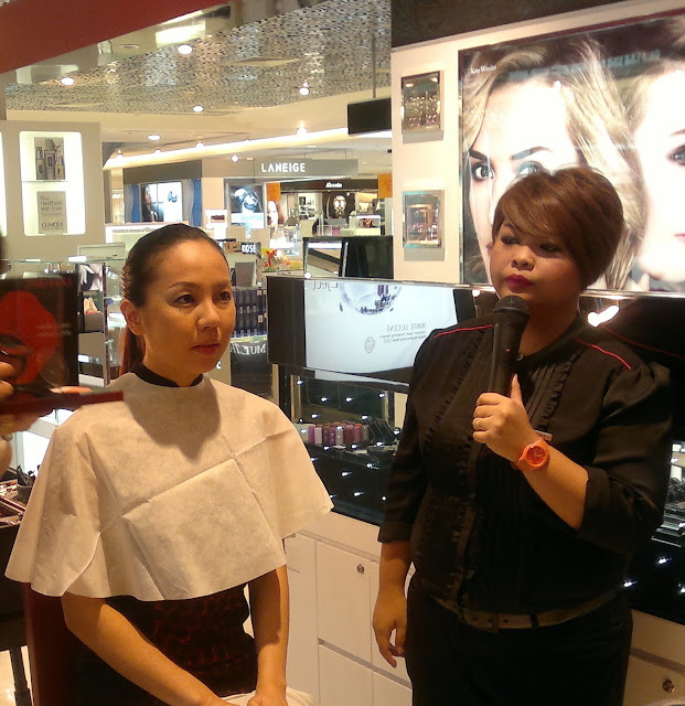 Day time make up master-class, Shiseido Paragon Singapore