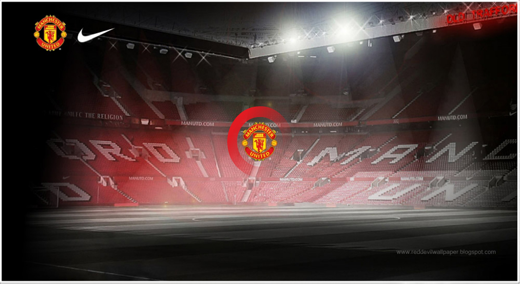 old trafford wallpaper. Man United Old Trafford