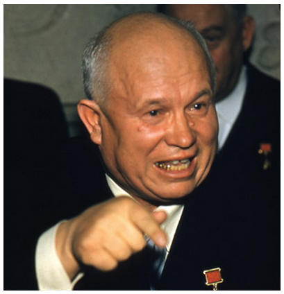 "nikita kruschev What was known about soviet premier nikita khrushchev during his career was strictly limited by the secretive soviet government little more information was available after he was ousted and became a ""non-person"" in the ussr in 1964."