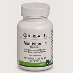 JUAL MULTIVITAMIN HERBALIFE