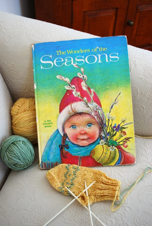 The Wonders of the Seasons illustrated by Eloise Wilkin