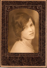 My Mother, Mabel, as a young woman