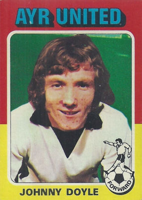 TOPPS 1978 SCOTTISH FOOTBALLERS-#043-DUNDEE UNITED-GEORGE FLEMING