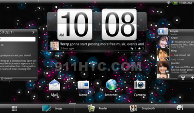 HTC's Upcoming tablet Puccini's Specs Leaked