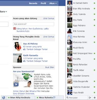 Merubah Kotak Chat Facebook ke Versi Lama | Khamardos Blog