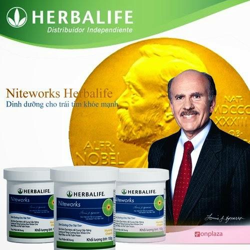 Vì sao bạn nên lựa chọn dùng sản phẩm Niteworks Herbalife?