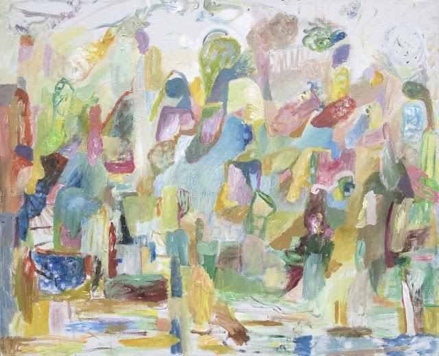 Inner Fun Palace - Acrylics on Canvas - 100 x 81 cm - Niklas J Brandow