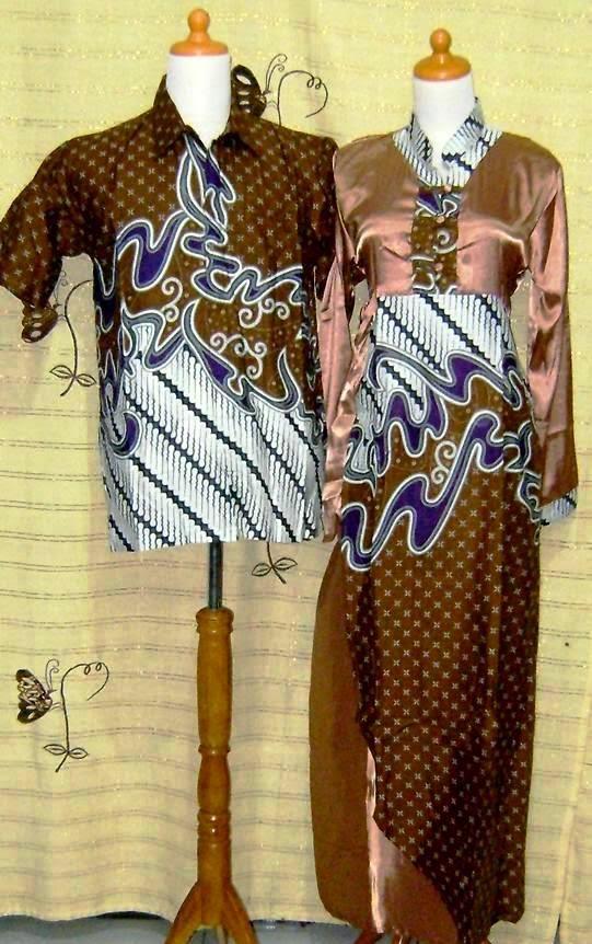 model baju batik modern pasangan