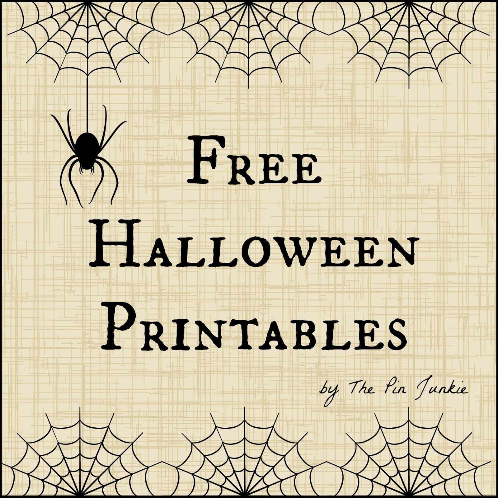 Free halloween printables negle Gallery