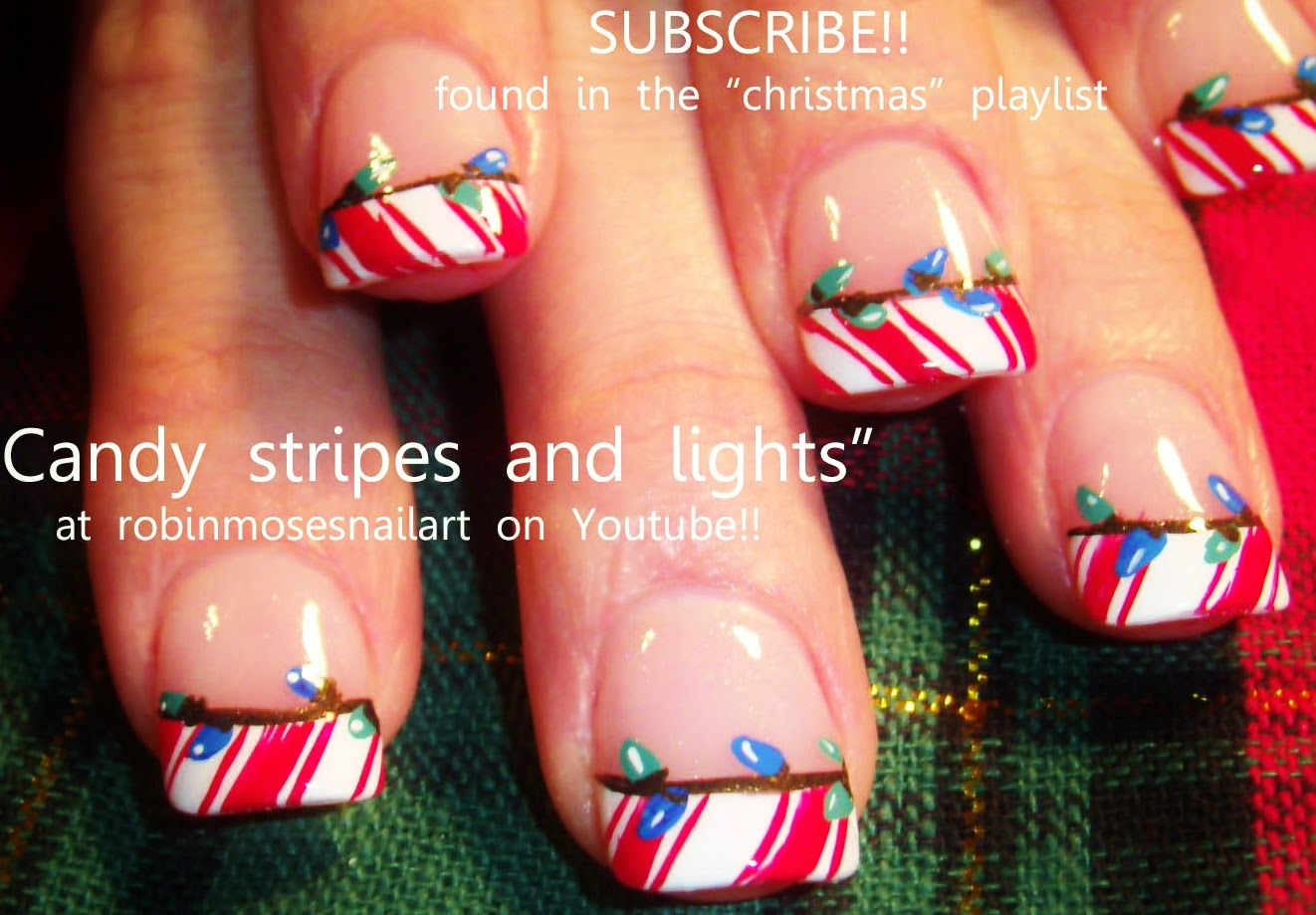 Robin moses nail art christmas nails xmas nails christmas nail art tutorials christmas nail art diy xmas nails easy holiday nail art for beginners and up prinsesfo Images